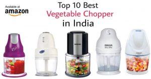 best electric vegetable chopper